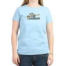 Swallows Women's Pink T-Shirt