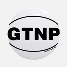 Grand Teton National Park, GTNP Ornament (Round)