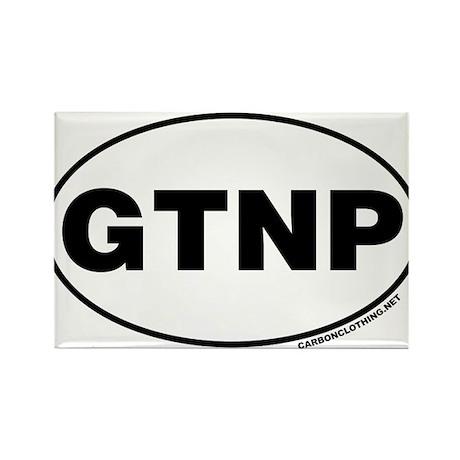 Grand Teton National Park, GTNP Rectangle Magnet (