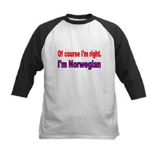 Of course Im right Baseball Jersey