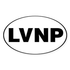 Lassen Volcanic National Park, LVNP Decal