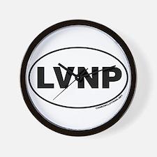 Lassen Volcanic National Park, LVNP Wall Clock