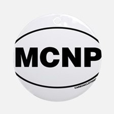 Mammoth Cave National Park, MCNP Ornament (Round)