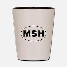 Mount St. Helens, MSH Shot Glass