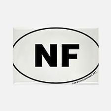 Niagara Falls, NF Rectangle Magnet