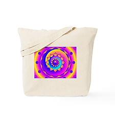 Bubble Gum Mandala Tote Bag