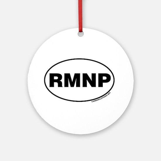 Rocky Mountain National Park, RMNP Ornament (Round