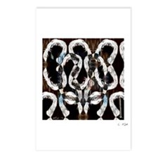 """""""Labyrinth/Maze/doorway"""" Postcards (Package of 8)"""
