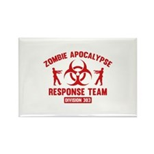 Zombie Apocalypse Response Team Rectangle Magnet (