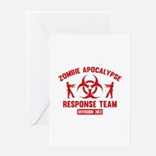 Zombie Apocalypse Response Team Greeting Card