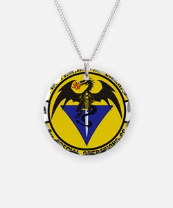 3rd Special Ops Sq Necklace