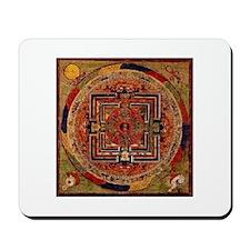 Buddhist Mandala Mousepad