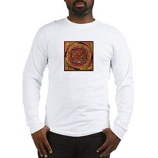 Buddhist Mandala Long Sleeve T-Shirt