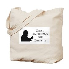 Obese Americans for Christie Tote Bag