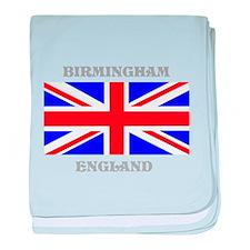 Birmingham England baby blanket