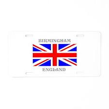 Birmingham England Aluminum License Plate