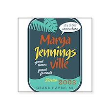 Marga Jennins Ville Sticker