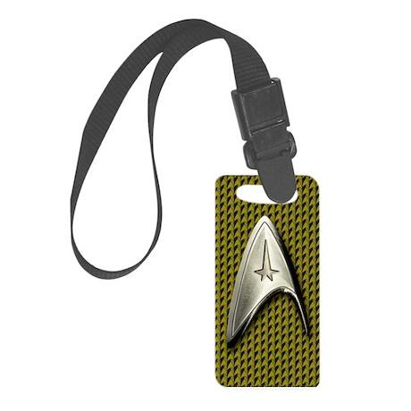 Star Trek Gold Command Luggage Tag