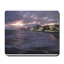 Sunset in Atlantic City Mousepad