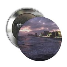"""Sunset in Atlantic City 2.25"""" Button"""