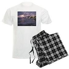 Sunset in Atlantic City Pajamas