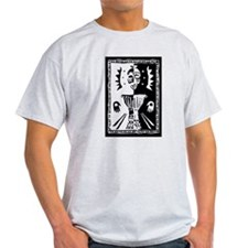 Djembe mask black and white T-Shirt
