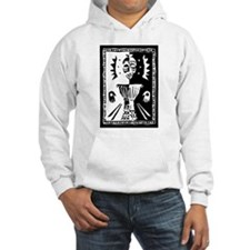 Djembe mask black and white Hoodie
