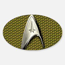 Star Trek Gold Command Decal