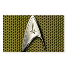Star Trek Gold Command Decal