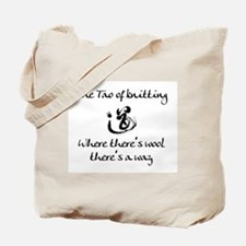 Tao of Knitting Tote Bag