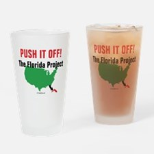 Funny Push Drinking Glass