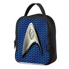 Star Trek Blue Sciences Neoprene Lunch Bag