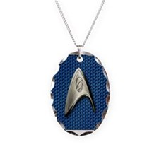 Star Trek Blue Sciences Necklace