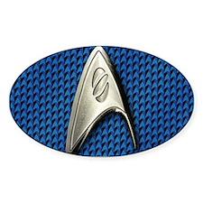 Star Trek Blue Sciences Decal