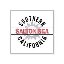 Salton Sea CA Rectangle Sticker