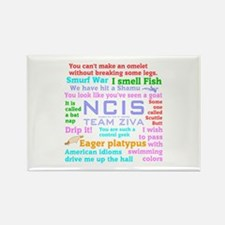 NCIS Ziva Quotes Rectangle Magnet