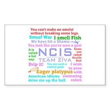 NCIS Ziva Quotes Decal