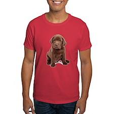 Chocolate Labrador Puppy T-Shirt