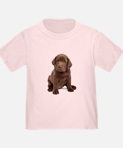 Chocolate Labrador Puppy T