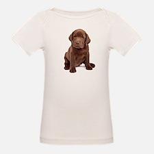 Chocolate Labrador Puppy Tee