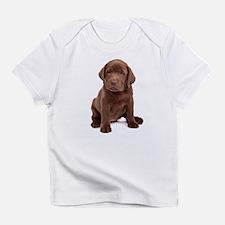 Chocolate Labrador Puppy Infant T-Shirt
