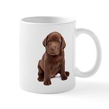 Chocolate Labrador Puppy Mug