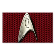 Star Trek Red Operations Decal