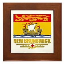 New Brunswick Pride Framed Tile