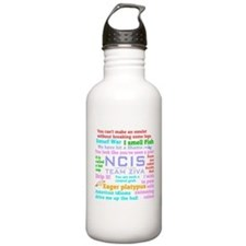NCIS Ziva Quotes Water Bottle