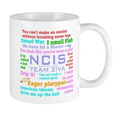 NCIS Ziva Quotes Mug