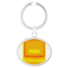 Colorfield Yellow after Rothko Keychains