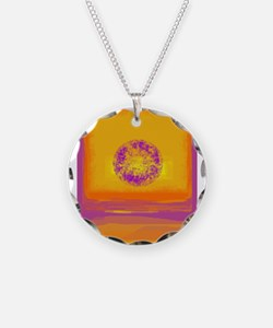 Colorfield Sunset Necklace