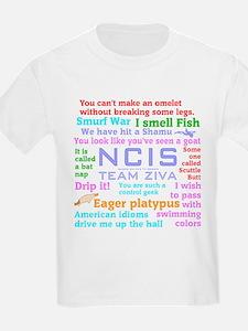 NCIS Ziva Quotes T-Shirt