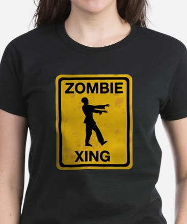 Zombie Xing Women's Dark T-Shirt
